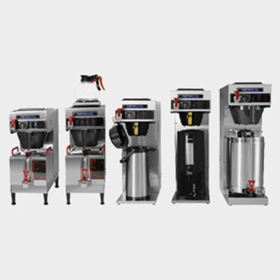 Pacific Refreshments has a wide range of commercial coffee brewing equipment for your use.