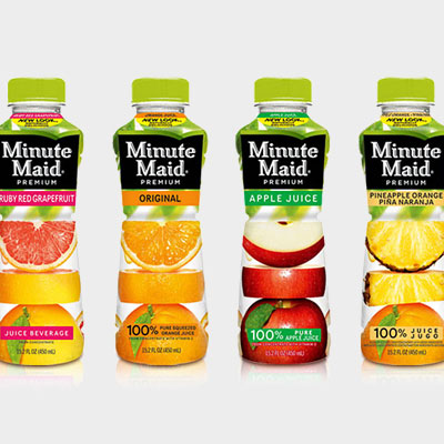100 percent juice from Minute Maid