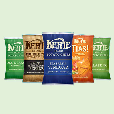 Kettle chips are a classic twist on your favorite snack